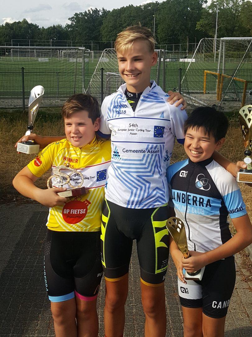 Max, Oscar and Sebastian Beitzel. Photo: Supplied.
