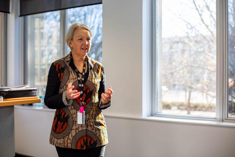 NCA CEO Sally Barnes