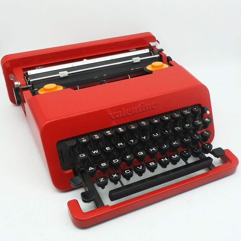 Olivetti Valentine Typewriter Designed by Ettore Sottsass