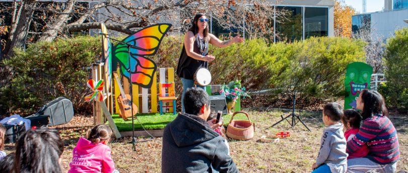 Social Art Park drumming event