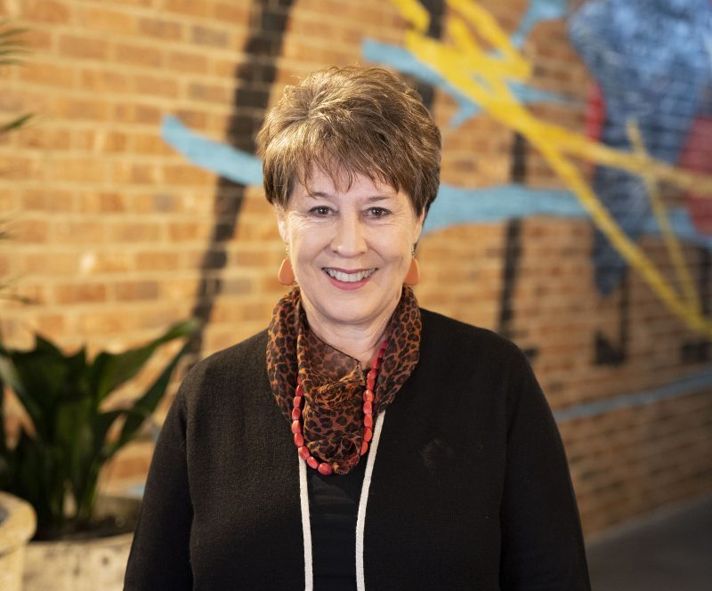 Sandy Van Der Toorn, social group coordinator, Woden Community Service, is up for a Westfield Local Heroes award. Photos: Supplied.