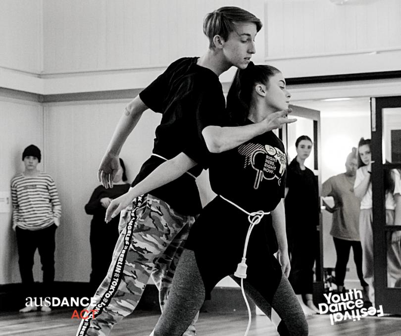 Dance Fest rehearsals.