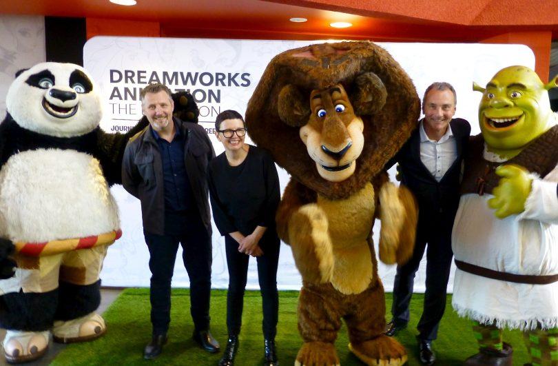 DreamWorks exhibition National Museum of Australia. Photo: Michael Weaver