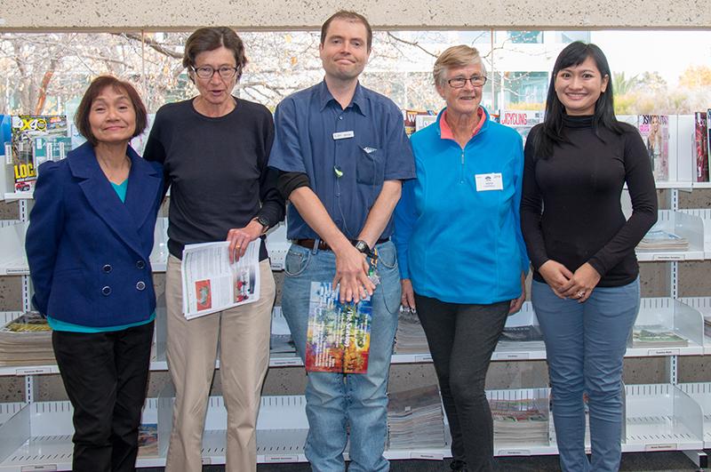 English Conversation Group volunteers