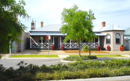 This two for one will tempt you to Harden's historic street