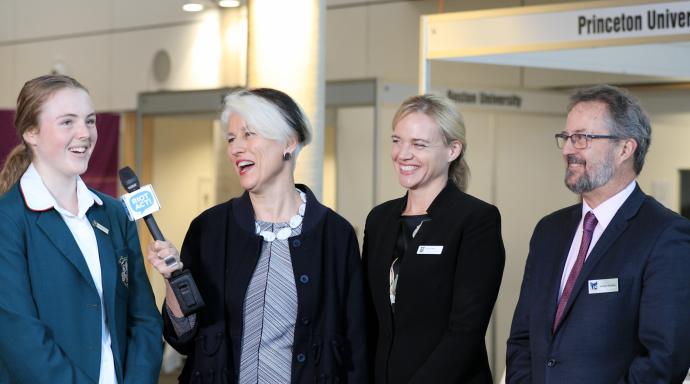 Canberra Girls Grammar event opens doors to international