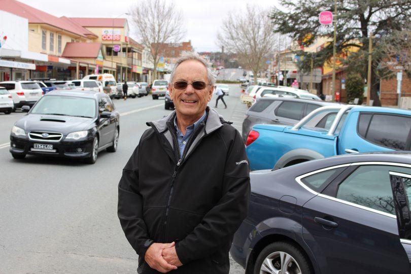 Snowy Monaro Mayor Peter Beer in Cooma.