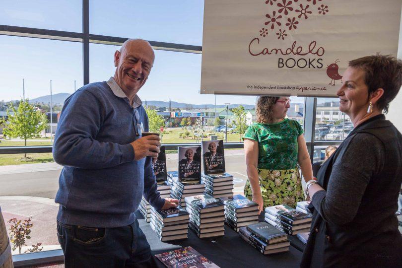 Tim Costello with his memoir