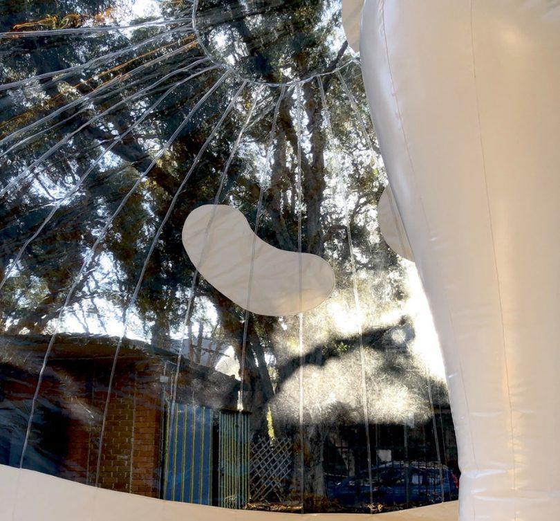 Bubble pavilion