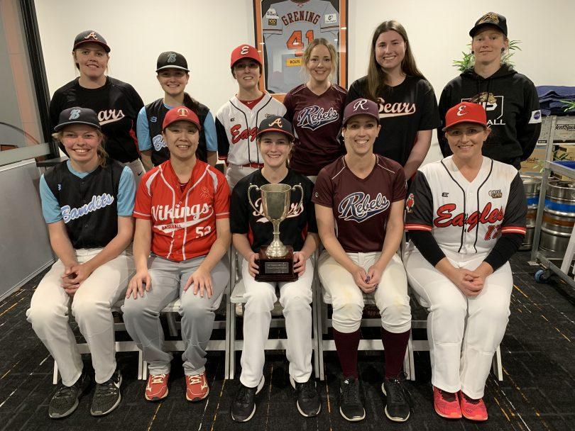 Women's baseball back in full swing