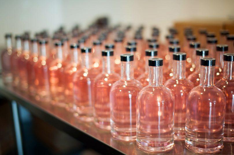 Blood-orange gin.