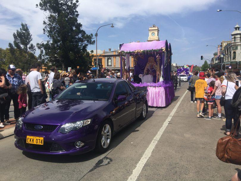 2019 Lilac Queen April Watson