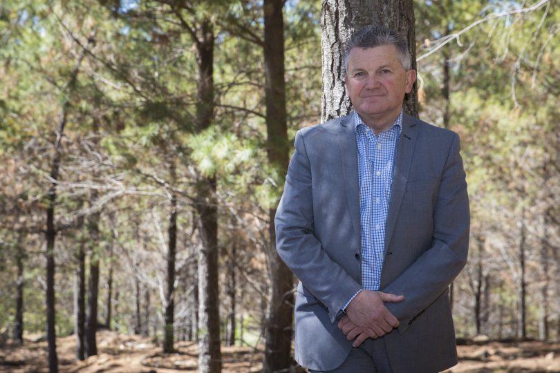 Arboretum director Scott Saddler