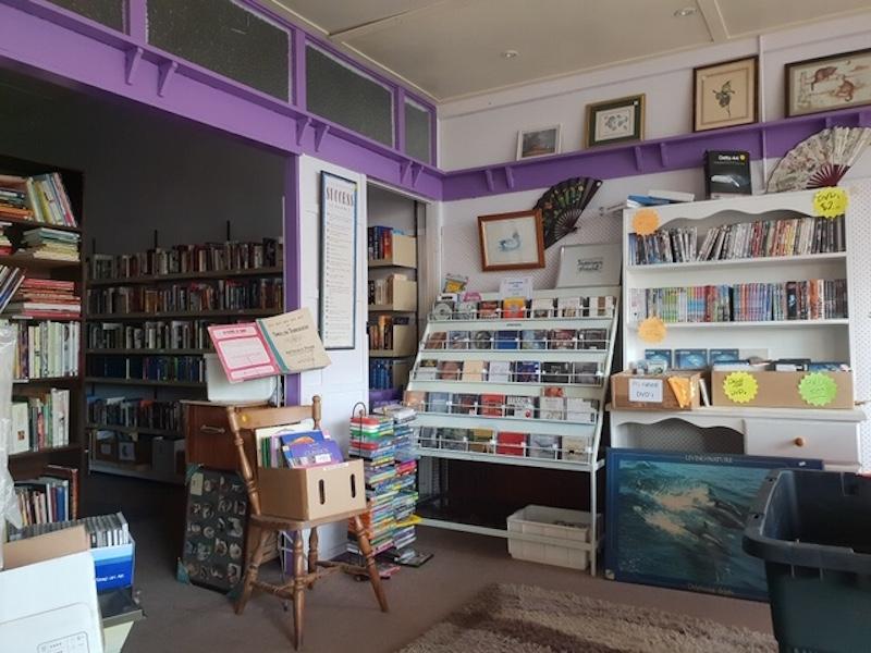 Op-shop interior