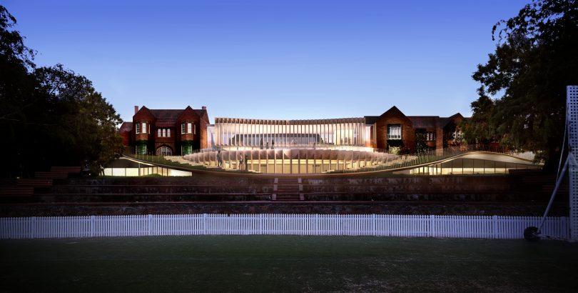 The proposed auditorium