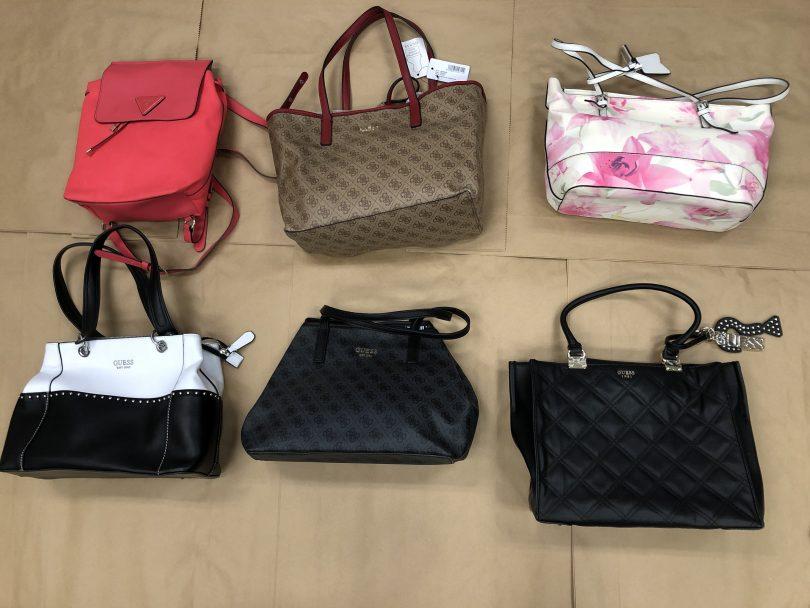 Handbags seized