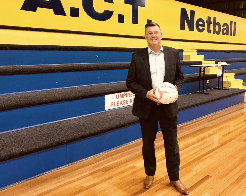 Netball ACT CEO David Marjoribanks