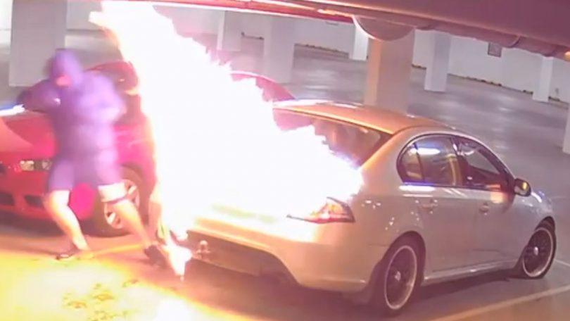 Gungahlin arsonist