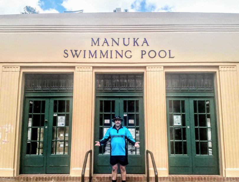 Manuka pool manager Bryan Pasfield