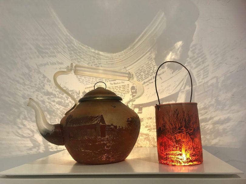 Holly Grace's teapots