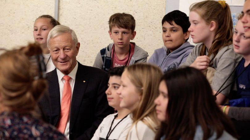 Tim Fairfax with children