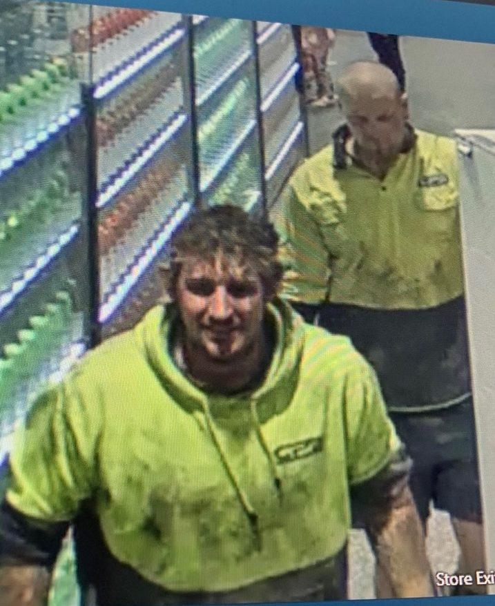 Police seeking these men