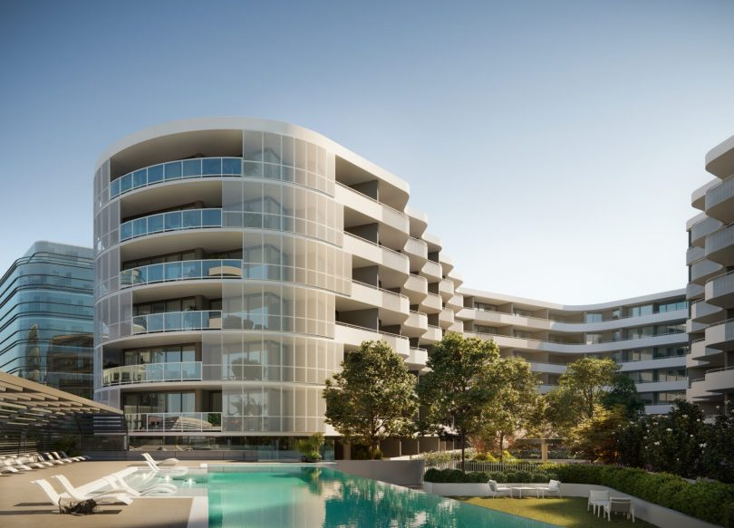 The One City Hill development