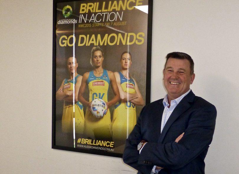 Netball ACT's new CEO David Marjoribanks