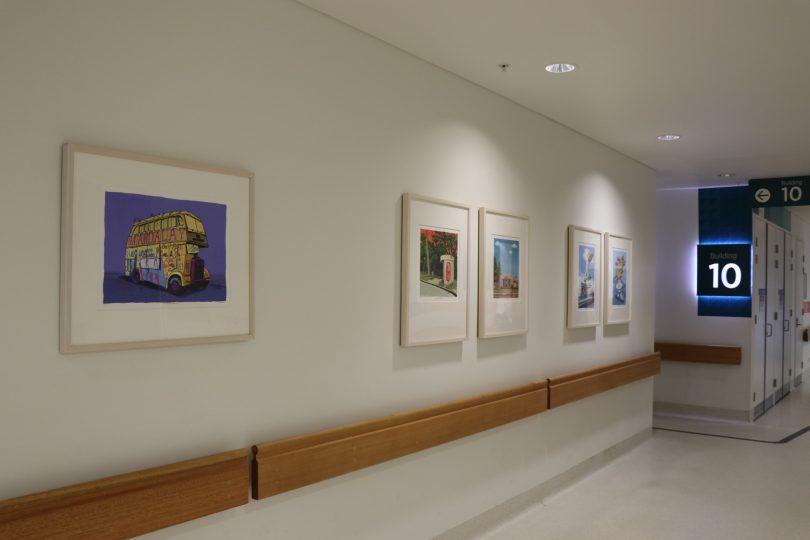 Five artworks by Trevor Dickinson