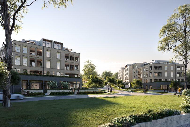 The Parks development