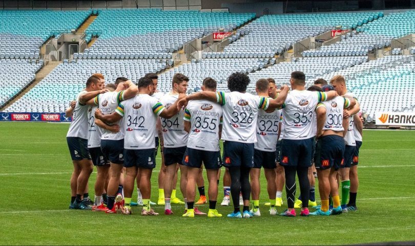 The Canberra Raiders squad