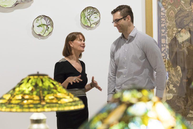 Adriane Boag and Nathan D'Cunha