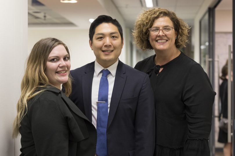 Kate Grimmond, David Chun and Susan Blain