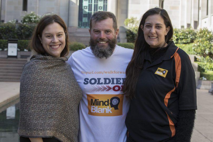 Jasmin Craufurd-Hill, Michael Ward and Alison Kelly