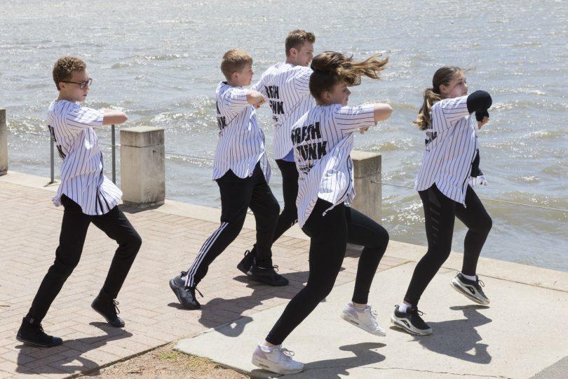 The Fresh Funk dance crew