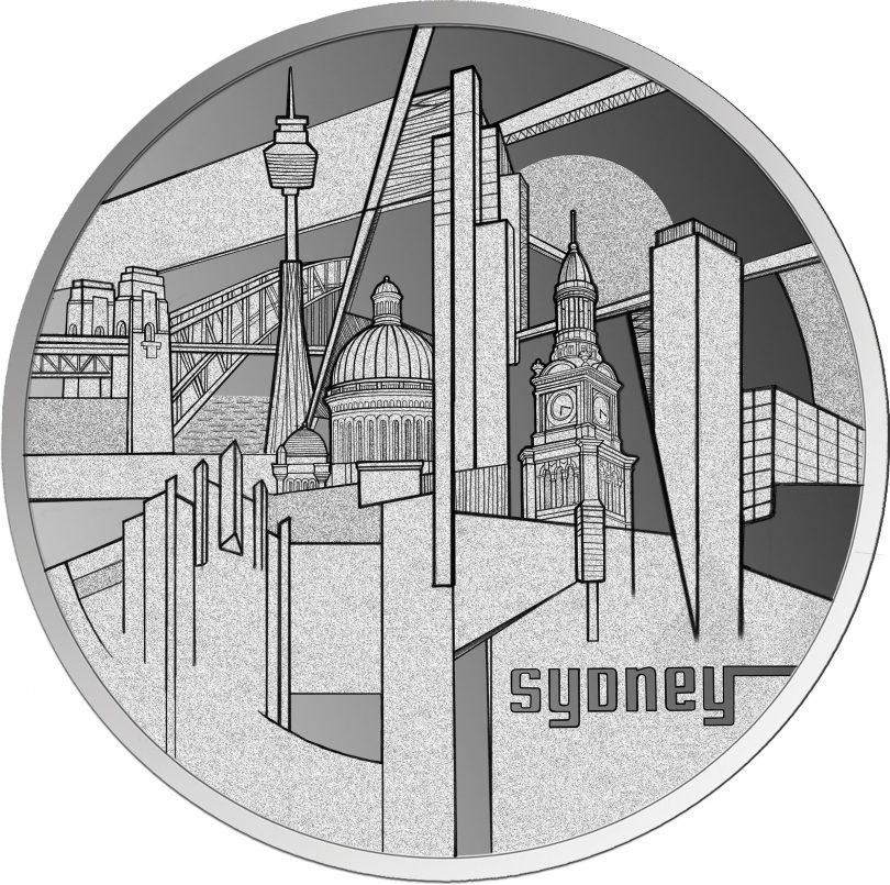 Sydney coin - the city