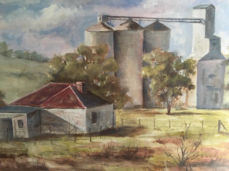 Yass landscape artist Cathy Pearsall's 'Cunningar'