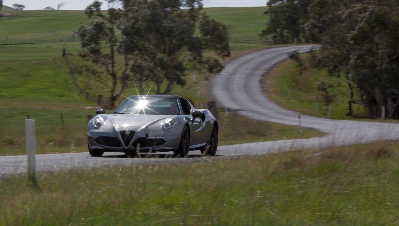 Smooth roads and sweeping curves, great fun to drive