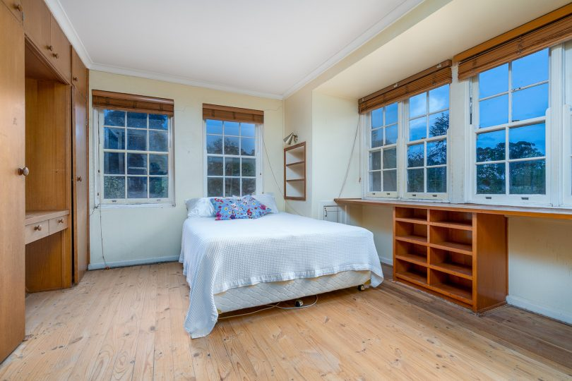 Sash windows, extensive cabinetry and much character