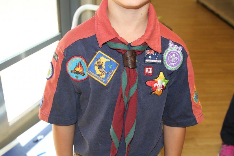Boy Scout Luke