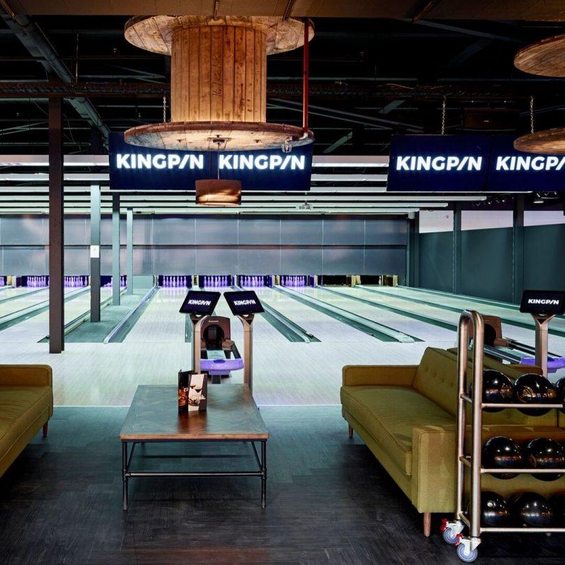 Kingpin bowling venue