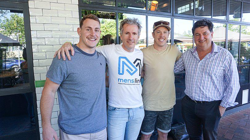 Adam Cook, Martin Fisk, Sam Williams and Tim Gavel.