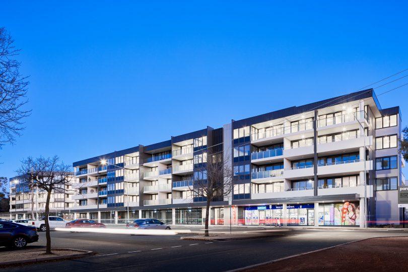 MPY - Morris Property's 'Parc'development in Macquarie