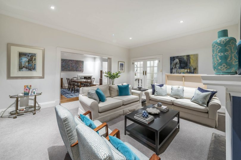 As well as casual entertaining, there are also formal sitting, dining and lounge rooms