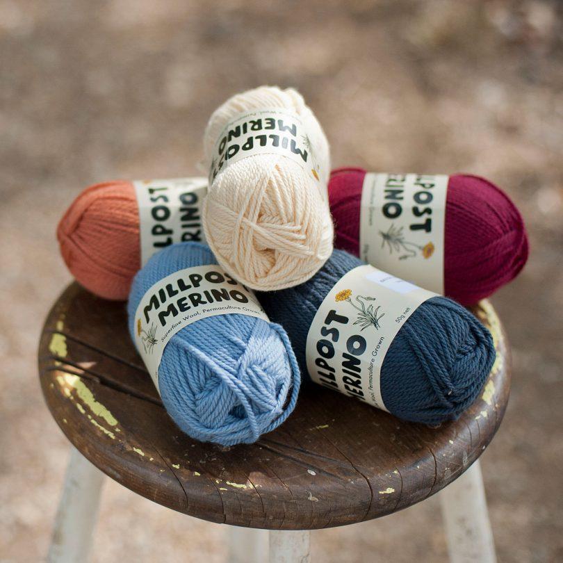 Millpost Merino wool