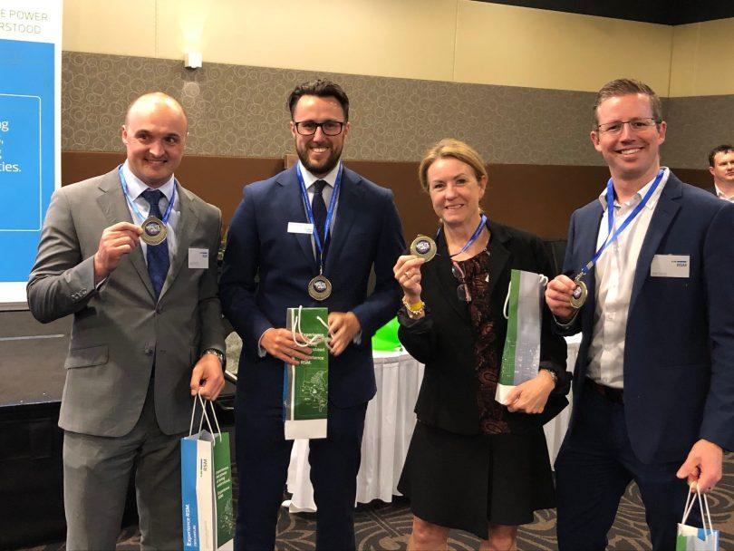 Medal winners at RSM Future Leaders