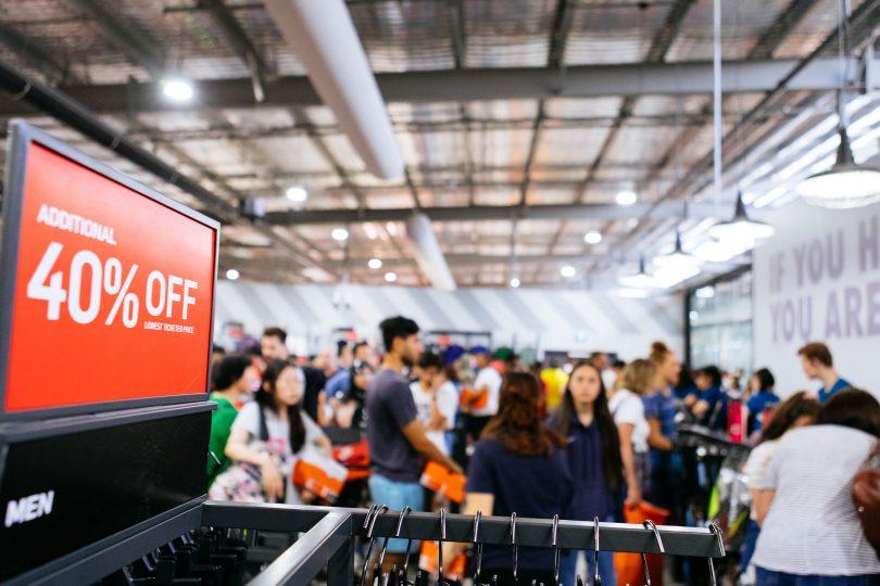 Bargains at Canberra Outlet