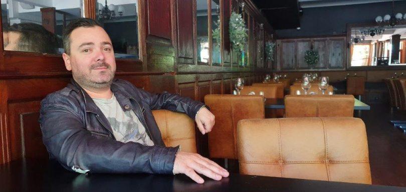 Damian Brabender at OTIS Dining Hall.