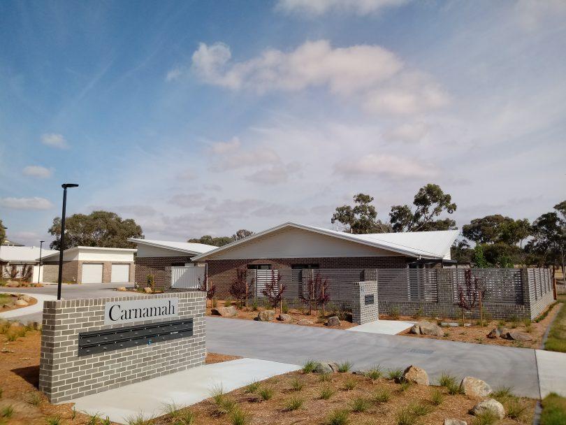 Chapman public housing development