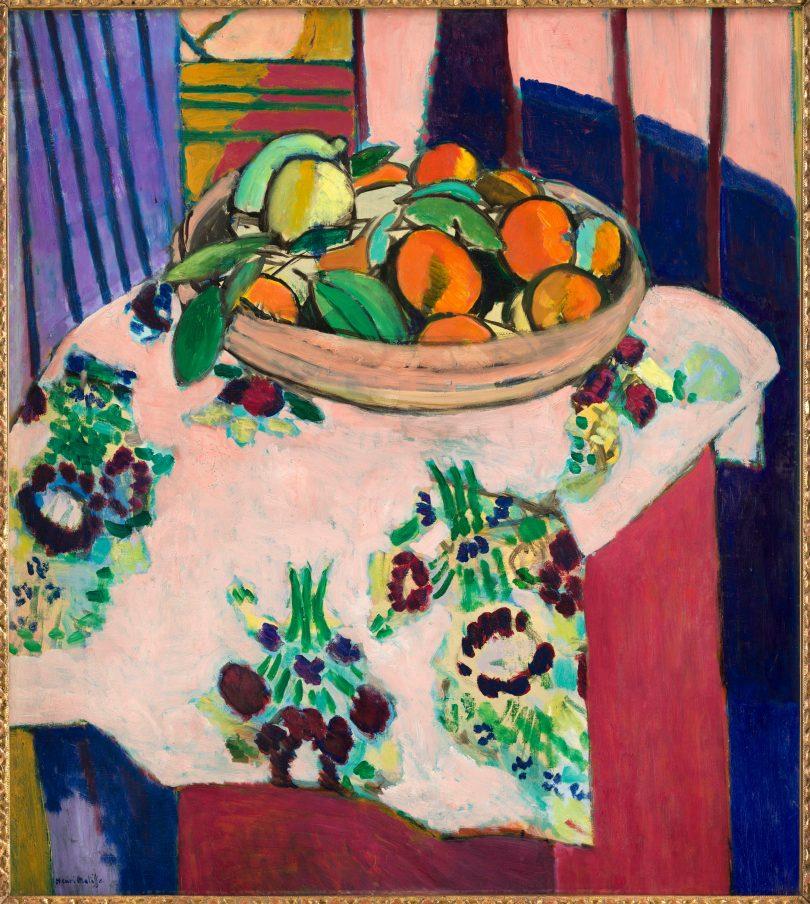 Henri Matisse, Nature mortre aux oranges, 1912